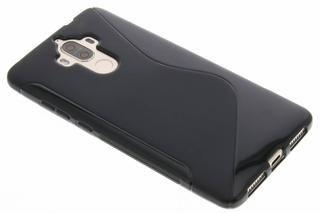 S-line Backcover voor Huawei Mate 9 – Zwart