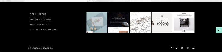 The Design Space Co | Website Instagram Feed Design
