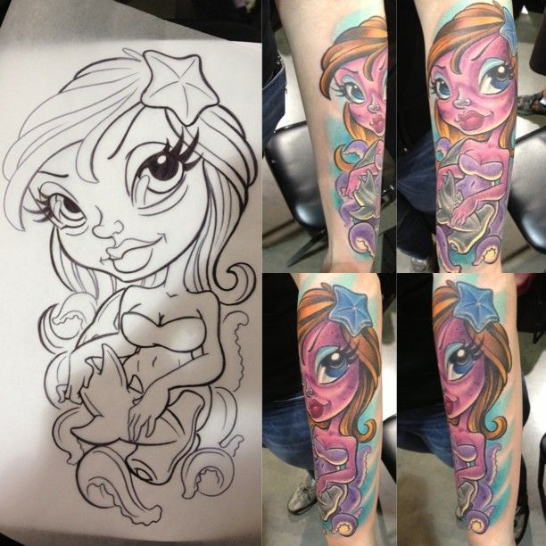 New School Pin Up Tattoo 17 best tattoos...