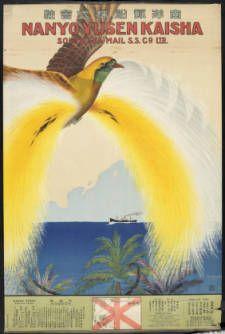 Nan'yō Yūsen Kabushiki Kaisha = Nanyo Yusen Kaisha = South Sea Mail S. S. Co., Ltd. [Bird] :: Rare Books and Manuscripts Collection