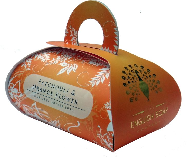 Patchouli & Orange Flower Large Bath Soap