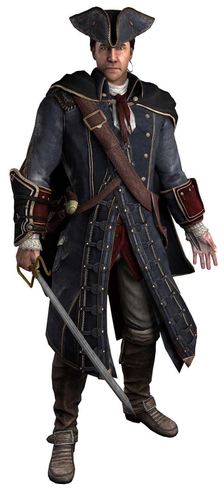 Haytham Kenway Assassin's Creed III and Assassin's Creed: Rogue