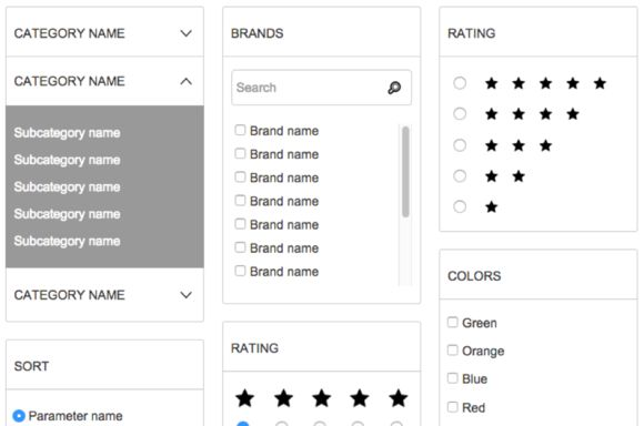 Axure Template Store Templates Responsive Design Website Template