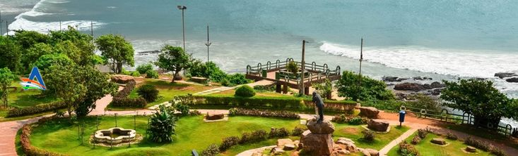 VUDA park is a beachfront park developed in an area of 55 acres by VUDA (Visakhapatnam Urban development Authority). The park is a glaring example of beauty and elegance. You can find beautiful flowers, roller skating rinks for kids, musical fountain and many other attractions at VUDA park.