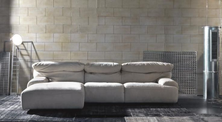 DAYTONA - A contemporary 3 seater sofa that's stylishly comfortable