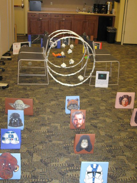 Star Wars Obstacle Course by YOUNGLIBR, via Flickr