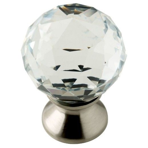 crystal knob 2 pack threshold clear durable