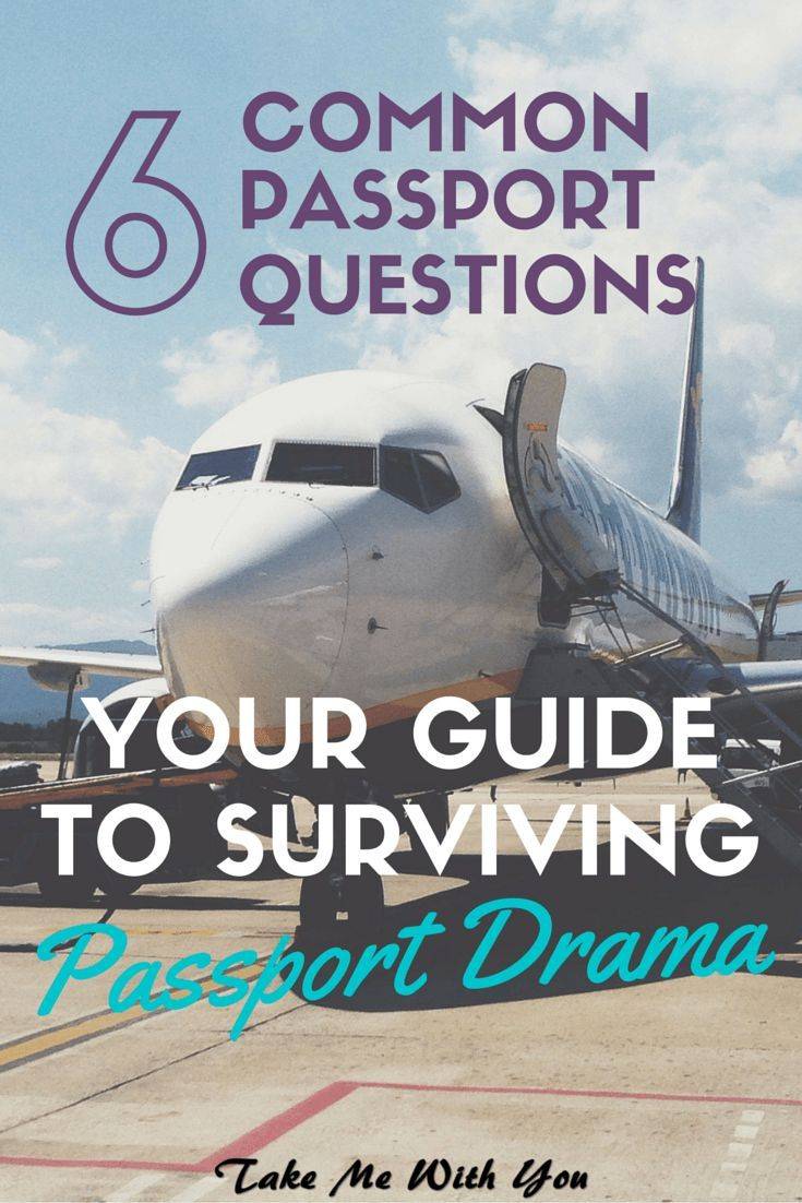Surviving passport drama: Common passport questions answered! Pin now, read later - might just save your trip!