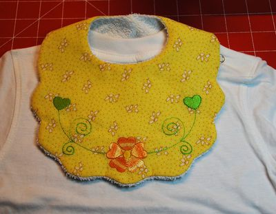 ITH Bib from YouEmbroidery