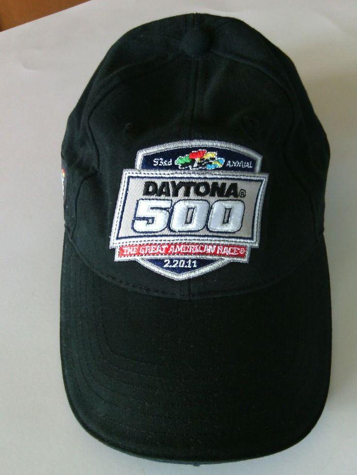 Daytona 500 Baseball Cap 2.20.11 Hat Nascar Speedway Size Adjustable Embroidered | eBay
