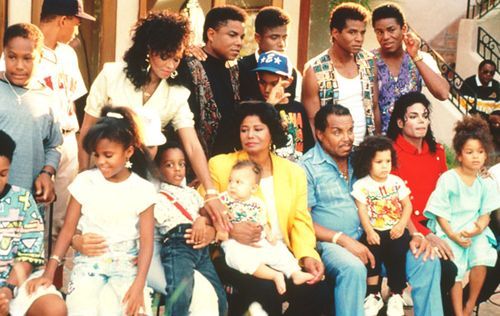 The Jackson Family from the 2300 Jackson Street Video. Appearances by Siggy Jackson, Rebbie Jackson, Tito Jackson, Randy Jackson, Jackie Jackson, Jermaine Jackson, Brandi Jackson, Katherine Jackson, Joe Jackson, and Michael Jackson