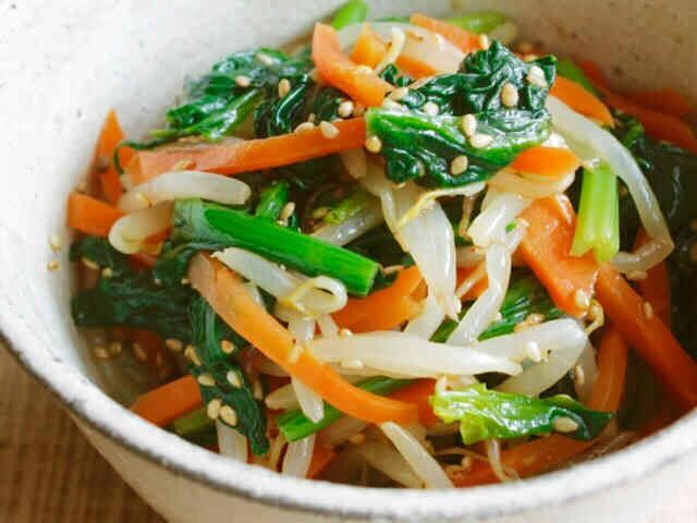 ☆3色野菜のナムル☆の画像