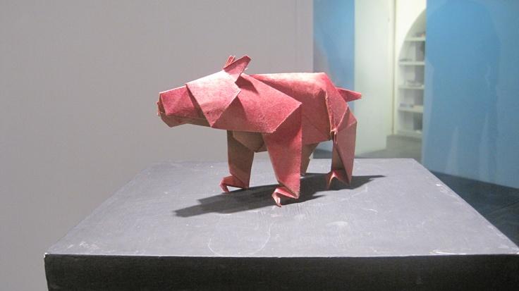 ¡Un oso de papel!, de este si me acuerdo =)