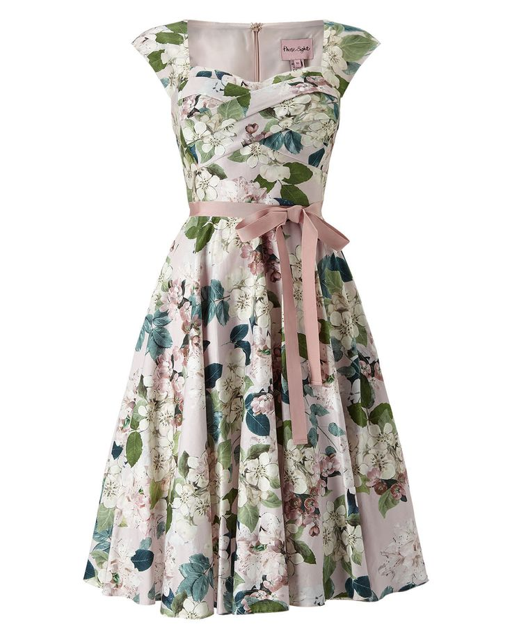 Phase Eight Adele Blossom Dress Pink