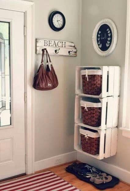 cajas recicladas.Soluciones economicas