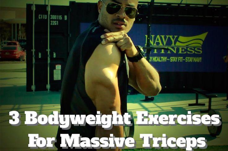 Упражнение для массивных рук https://mensby.com/sport/muscles/5935-bodyweight-exercises-massive-triceps-muscles  Как иметь массивные, накачанные и крепкие руки? Две третьих объема мышц руки приходятся на трицепс. Три домашних упражнения, которые сделают твой трицепс и руки впечатляющими.