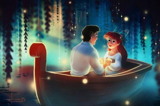 Disney Valentines series by kelogsloops