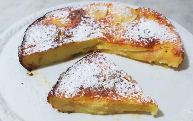 torta di ricotta e mele