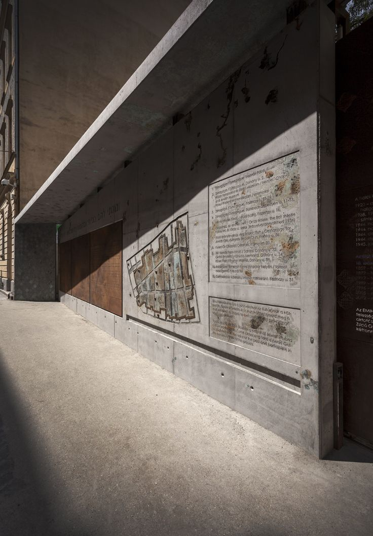 MUKIpro // completely personalized products  from the lighting concrete design pavement family // designed by S'39 Hybrid Design Manufacture // 2014, Dohány Street memorial wall, Budapest