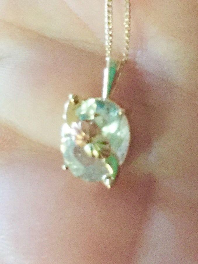Black Hills 10k Gold Aquamarine Pendant Charm On 14k Necklace March Birthstone  | eBay
