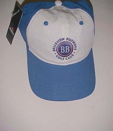 Belleview Biltmore Golf Club Adult Unisex Blue White Baseball Cap One Size New #Pukka #BaseballCap