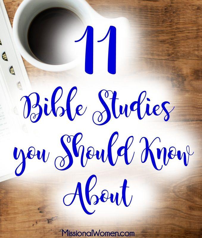11 Bible Studies you Should Know About. {MissionalWomen.com}