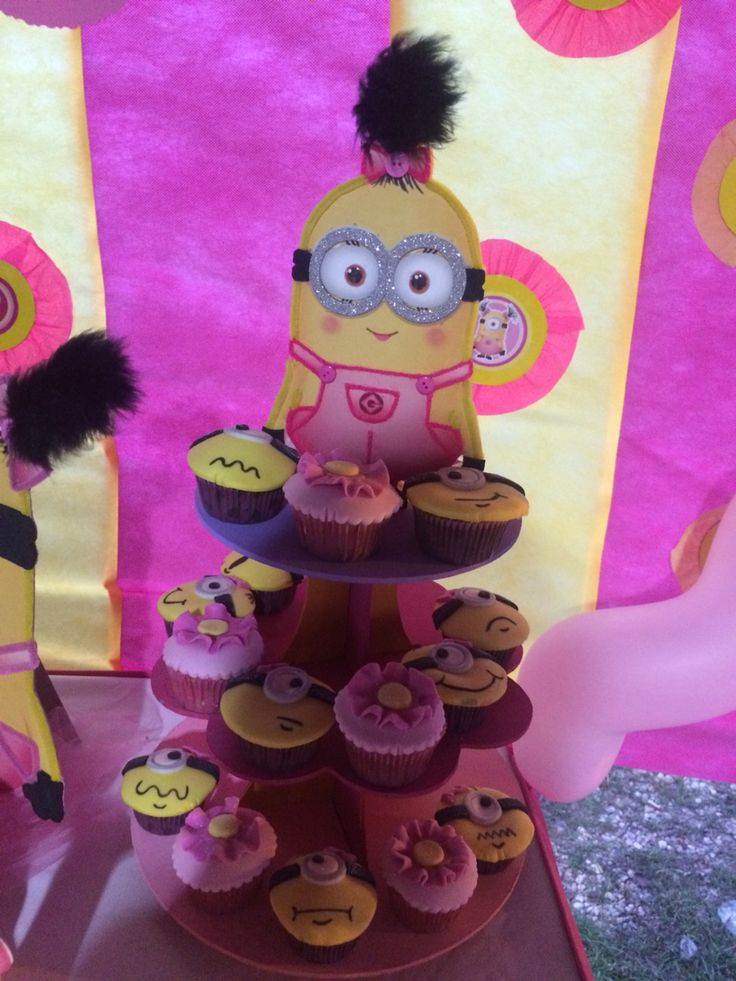 Las 25 mejores ideas sobre ni a minion en pinterest - Fiesta de cumpleanos para nina ...