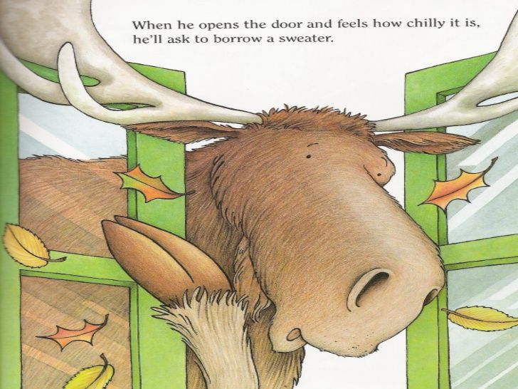 Book #6 If You Give a Moose A Muffin