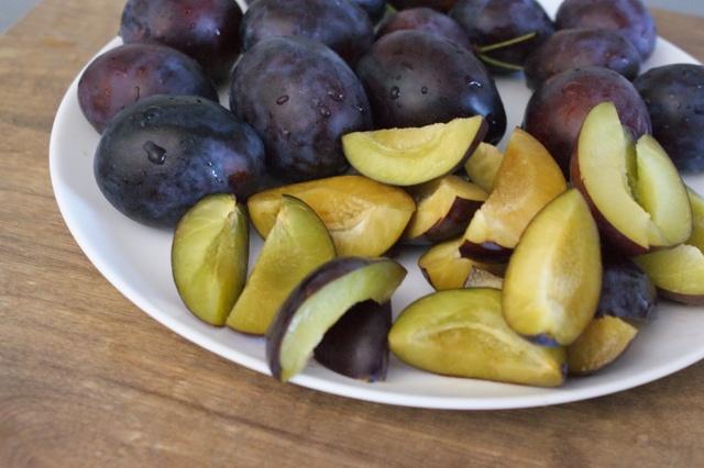 juicy plums