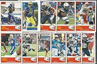 2019 Panini Score Football Los Angeles Chargers Team Set 11 Cards W Drafted Rookies Sports Outdoors Fitness Exercis Los Angeles Chargers Chargers Bow Cases