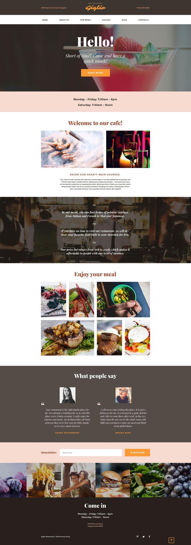 Premium Website Templates Browse web templates designed