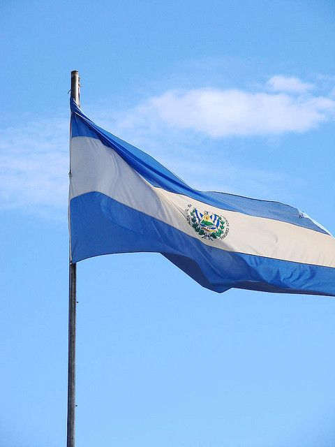 Bandera de El Salvador | Flickr - Photo Sharing!