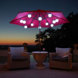 These remote control multi-colored LED Globe Lights are perfect for accenting your umbrella, decorating your gazebo, pool cabana, or tiki bar. Available in 8 or 12 light strings. http://www.intheswim.com/Backyard-and-Home/Outdoor-Lighting/LED-Globe-Lights/