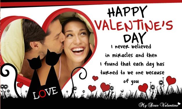 Valentine Greeting Cards Valentine Pictures – Valentine Card for Girlfriend