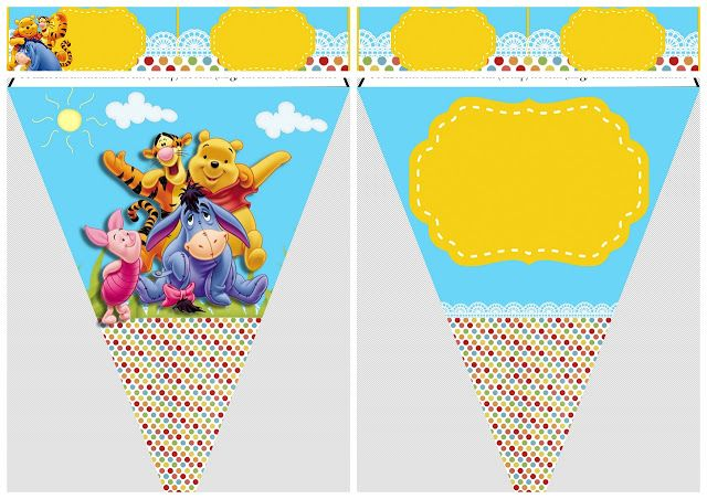 Winnie the Pooh Party: Free Party Printables.