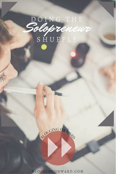 Doing the entrepreneur thing on your own? Find out how to do the solopreneur shuffle with ease over on Blogging Onward!