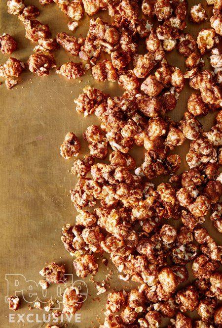 Scarlett Johansson's Salted Caramel & Chocolate Hazelnut Popcorn Recipe