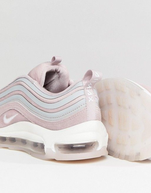 60dd14598f Nike Air Max 97 Ultra '17 Velvet Trainers In Rose | sneaks | Nike air max, Air  max 97, Air max