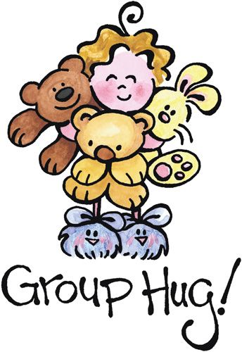 Image result for sparkly birthday group hug image