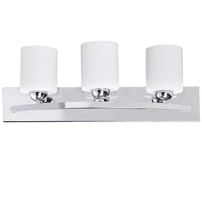Tangkula Bathroom Vanity Lamp Brushed Nickel Wall Mounted Vanity