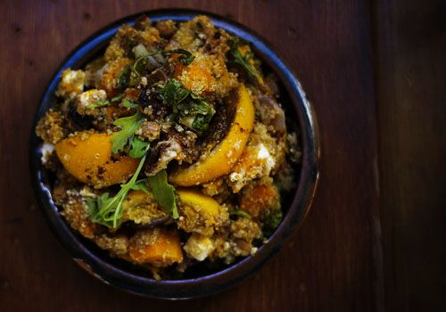Quinoa Salad/Roasted Pumpkin & Orange