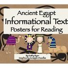 This series of 9 Informational Text Posters written in simple language will help your students learn basic facts about various topics of Ancient Eg...