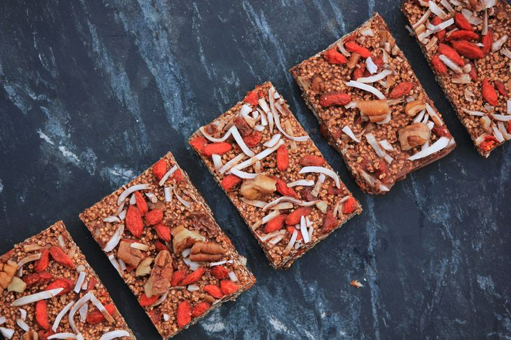 Amaranth Coconut Chocolate Crackle