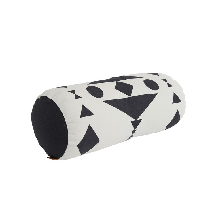 Cylinder Pillow in Black & White design by OYOY