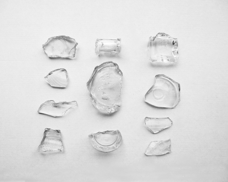 Black And White Photography Broken Vintage Glass Minimalist Home Decor BOGO 10x8 Print Fragments.... $25.00, via Etsy.