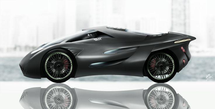 VIRUS Concept car by silartech