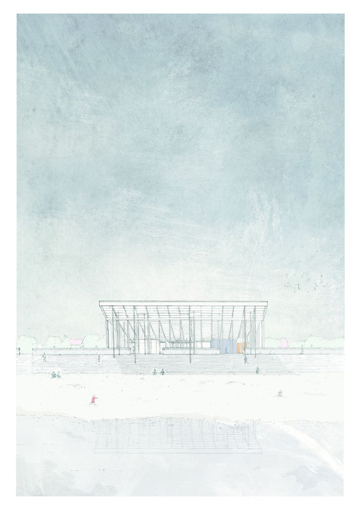 Nicolas Mourot, Theatres of water -Sheerness . Drawing ARCHITECTURE tumblr