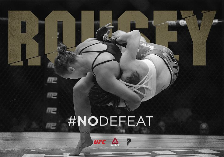 Ronda Rousey | Brand Concept on Behance