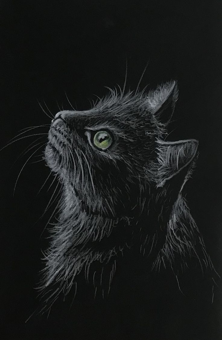 Prismacolours on black stonehenge - Nicola Wilkinson