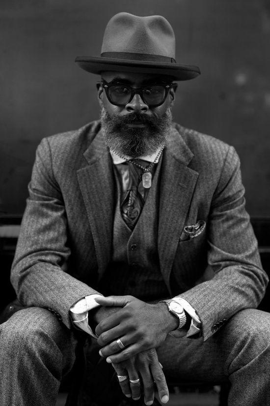 Mr. Kevin Stewart - The designer behind Roger Charles New York and former fashion director at ESPN Magazine.